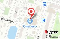 Схема проезда до компании Мир Рукоделия в Железнодорожном