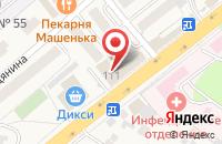 Схема проезда до компании МегаФон в Красково
