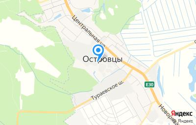 Местоположение на карте пункта техосмотра по адресу Московская обл, г Раменское, д Островцы, ул Новая, д 6