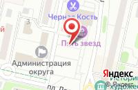 Схема проезда до компании ПРОФХОЛОД в Щелково
