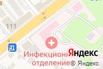 Схема проезда до компании Детская поликлиника №1 в Красково
