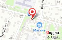 Схема проезда до компании Деталь-Юг в Крымске