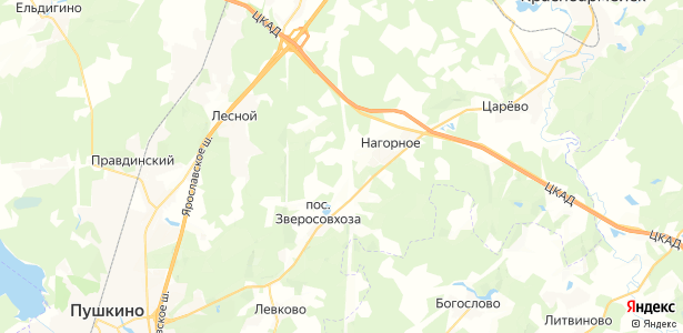 Доброе на карте