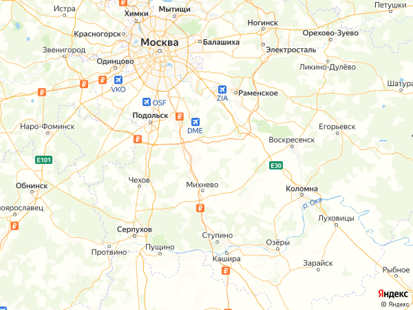 коттеджный поселок Караваево Озеро-2 на карте