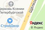 Схема проезда до компании Платежный терминал, Московский кредитный банк, ПАО в Медвежьих Озёрах