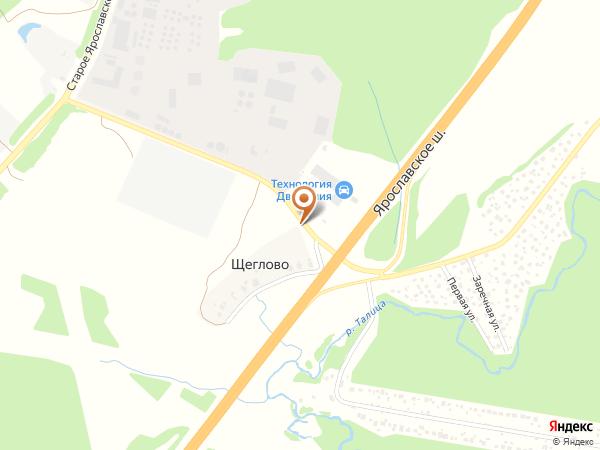Остановка Щеглово (Московская область)