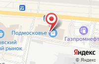 Схема проезда до компании Megabit в Щелково