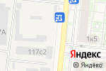 Схема проезда до компании Уютная хата в Красково