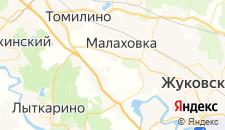 Гостиницы города Михнево на карте