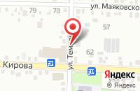 Схема проезда до компании Втридешева в Новоукраинском