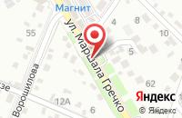 Схема проезда до компании Кубаньсельхозпродукт в Крымске
