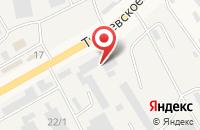 Схема проезда до компании Shinybu.ru в Островцах