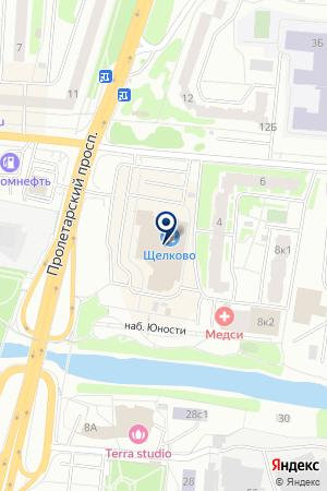 СТРАХОВАЯ КОМПАНИЯ ПОДМОСКОВЬЕ на карте Щелково