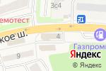 Схема проезда до компании Leader в Красково