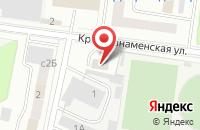 Схема проезда до компании Городской Центр Рекламы в Щелково