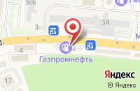 Схема проезда до компании Astra в Красково