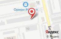 Схема проезда до компании Полистирол в Череповце