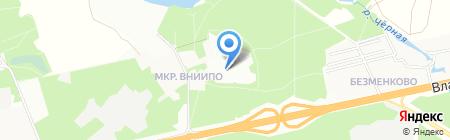ВНИИПО на карте Балашихи