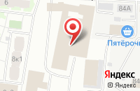 Схема проезда до компании Тепло Сервис в Щелково
