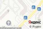 Схема проезда до компании Мастиф в Красково
