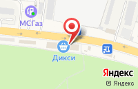 Схема проезда до компании Дикси в Малаховке