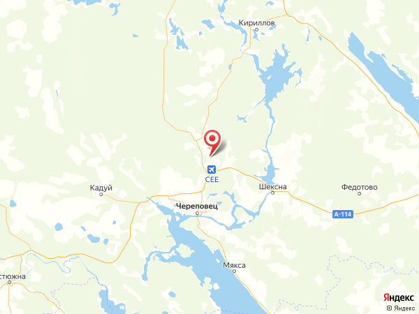 поселок Поповское на карте