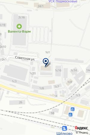 НАЦИОНАЛЬНЫЙ ДИАГНОСТИЧЕСКИЙ ЦЕНТР, НДЦ-ЩЕЛКОВО на карте Щелково