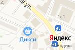 Схема проезда до компании Экономстрой в Малаховке