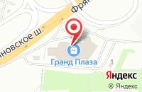 Схема проезда до компании Успех в Щелково
