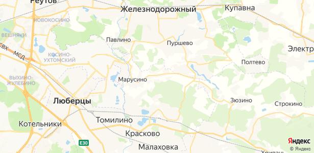 Мотяково на карте