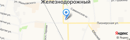 Платежный терминал Сбербанк России на карте Балашихи