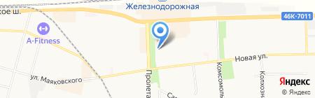 Дарос на карте Балашихи