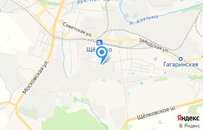 Местоположение на карте пункта техосмотра по адресу Московская обл, г Щёлково, линия 3-я, д 29
