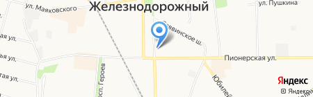 KDL на карте Балашихи