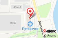 Схема проезда до компании Сибирское Здоровье в Малаховке