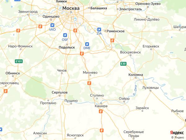 СНТ Лисичкино на карте