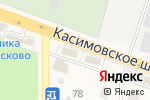 Схема проезда до компании Поляна в Малаховке