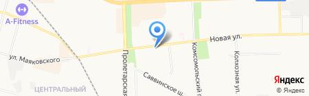 Апшерон на карте Балашихи