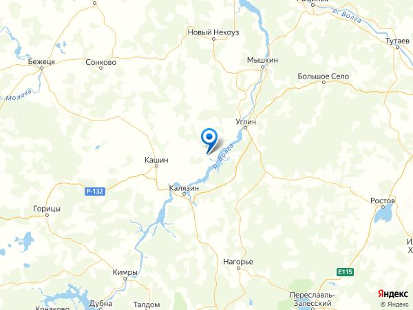 деревня Слободищи на карте
