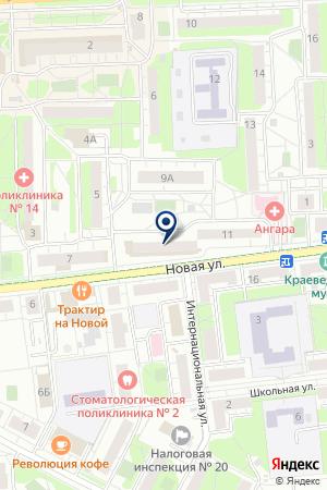 АГЕНТСТВО НЕДВИЖИМОСТИ РИЭЛТИ-СЕРВИС на карте Новой