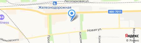 Детский сад №14 на карте Балашихи