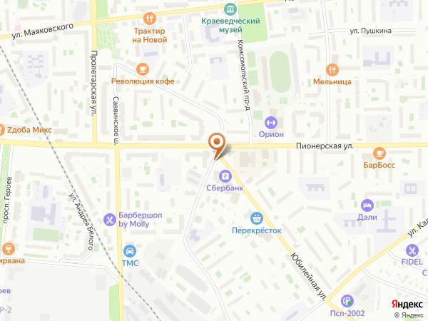 Остановка Юбилейная улица (Московская область)