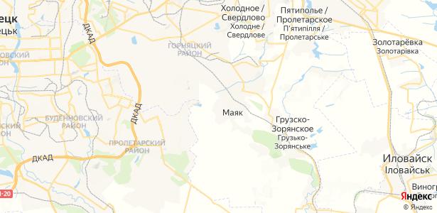 Грузской на карте