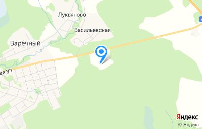 Местоположение на карте пункта техосмотра по адресу Вологодская обл, Вашкинский р-н, д Васильевская, д 1