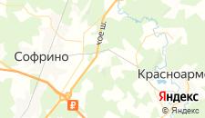 Отели города Никольское на карте