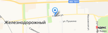 ФЛАМИНГO на карте Балашихи