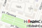 Схема проезда до компании Магазин в Новом Свете
