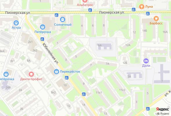 жилой комплекс На ул. Юбилейная