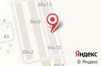 Схема проезда до компании Адвокатский кабинет Бариной О.С в Мотяково