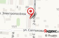 Схема проезда до компании Magazin77.ru в Удельной